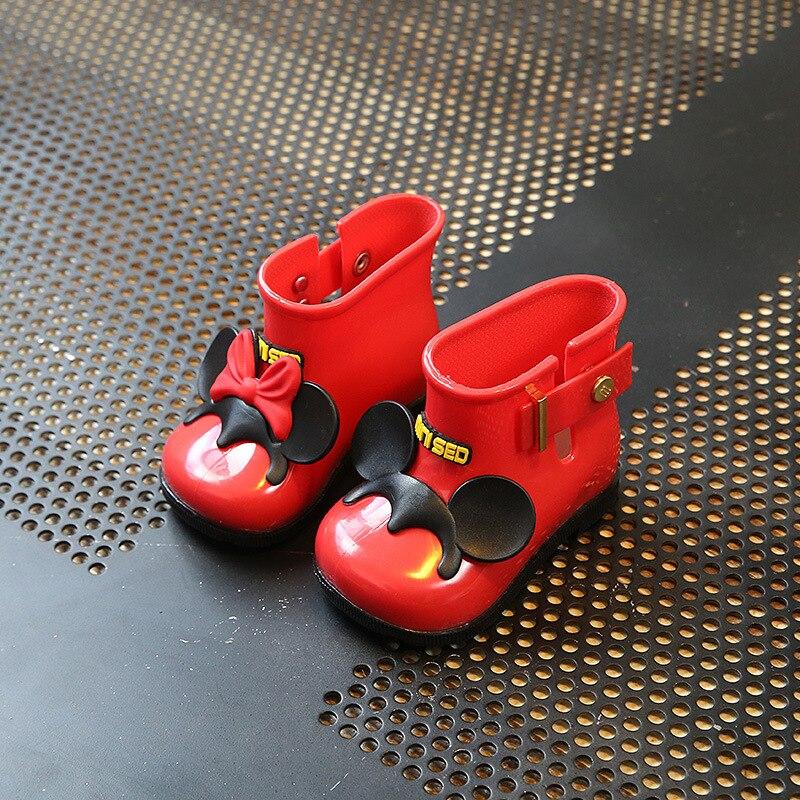 Baby-Gelee дождь Обувь Боген stiefel Sandale niedlichen Schuhe kinder Regen Сапоги и ботинки для девочек Обувь для девочек Детские обувь для детей 19 евро-31