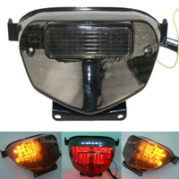 waase For Suzuki GSXR600 GSXR 600 2001 2002 2003 Rear Tail Light Brake Turn Signals Integrated LED Light