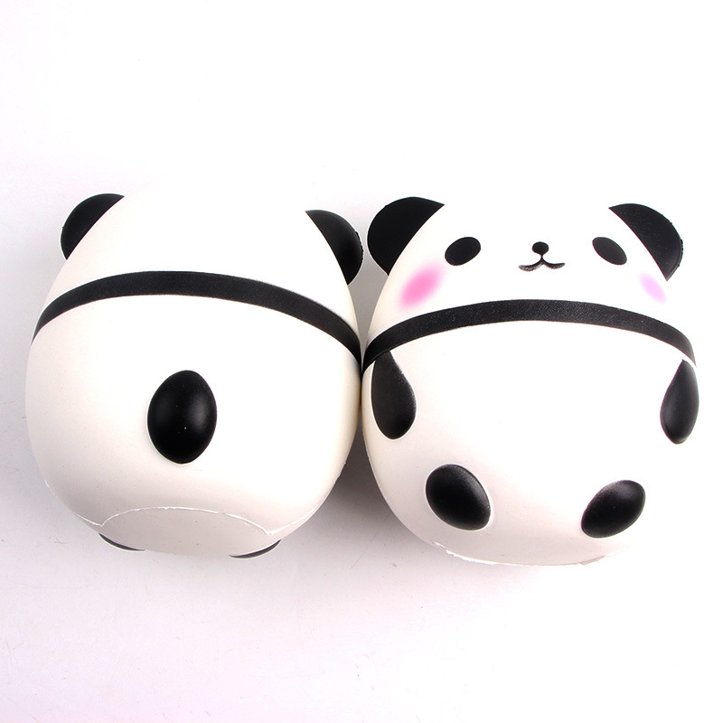 15cm Jumbo Kawaii Squishy Big Soft Panda Cute Bear Squeeze Squishi Slow Rising Toy Relieves Stress Anxiety Phone Strap Automobiles