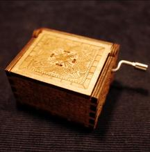 Carved Wooden Box Harry Potter – PERFECT GIFT