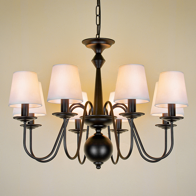Chandelier Vintage Loft Antique Adjustable Mordern Nordic Retro Light E27 Art Spider Ceiling Lamp Fixture Light 110V 220V vintage nordic retro edison bulb light chandelier loft antique adjustable diy e27 art spider pendant lamp home lighting