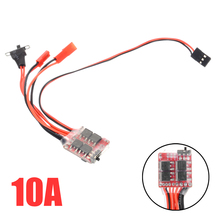 купить New Arrival 10A 5V RC Car Brushed ESC Brushed Speed Controller With Brake For RC Car Truck Boat дешево