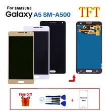 TFT для samsung Galaxy A5 SM-A500F ЖК-дисплей Экран дисплея Замена для samsung SM-A500FU A500G A500M A5000 A5009 Дисплей модуль