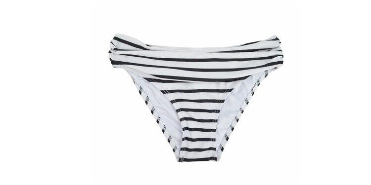 Летние женские микро бикини шорты Бикини Низ с низкой талией спортивный Ruched Сексуальная купальная одежда купальный костюм для девочек плавки B611