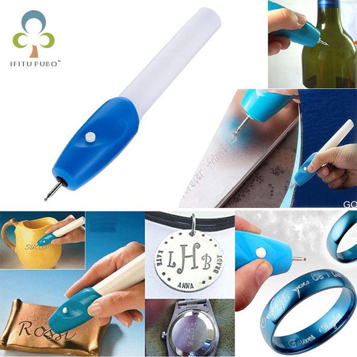 Electric Etching Engraving Engrave Carve Tool Steel Jewellery Engraver Pen GYH