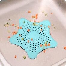 1 шт. Силиконовый Фильтр для слива раковины волосы в ванной ловушка стопор Траппер сливное отверстие фильтр для ванной комнаты Кухня Toliet