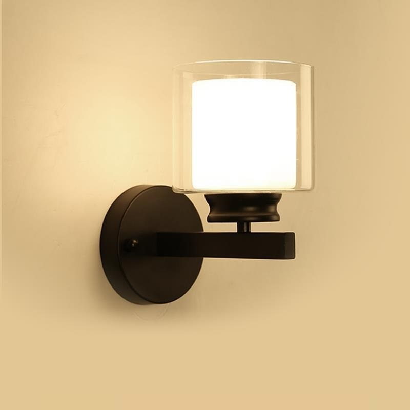 Wall lamp bedroom living room balcony lamp staircase simple modern creative European American aisle wall lamp