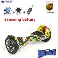 Self balancing scooter 10 inch hoverboard skateboard bluetooth 4400amh 700W Samsung battery Skateboard Smart Balance Hover board