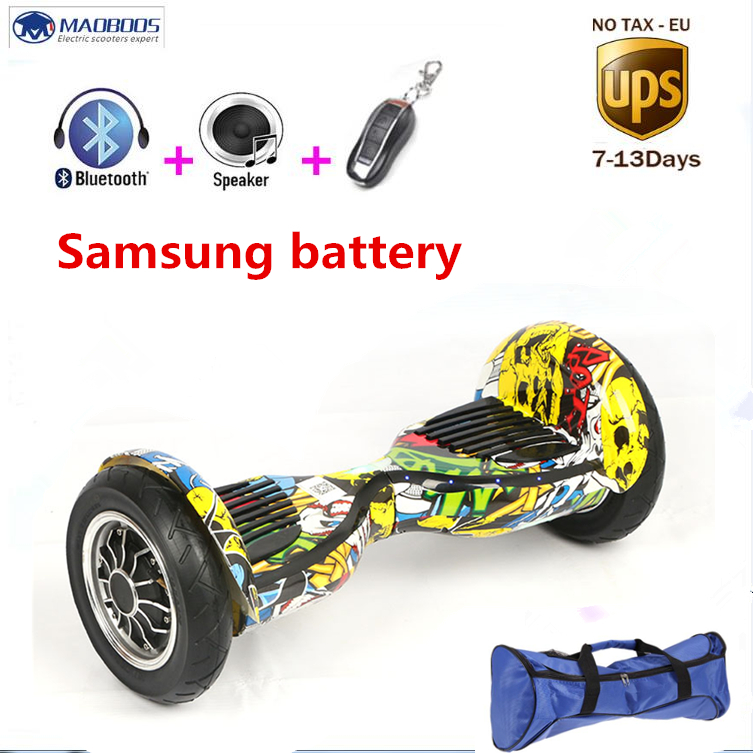 Self balancing scooter 10 inch hoverboard skateboard bluetooth 4400amh 700W Samsung battery Skateboard Smart Balance Hover board