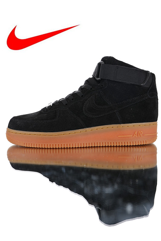 check out d2eb5 47248 High Quality Nike Air Force 1 High  07 Lv8 Suede Men s and Women s  Skateboarding Shoes Outdoor Sneakers Lightweight 749266-001