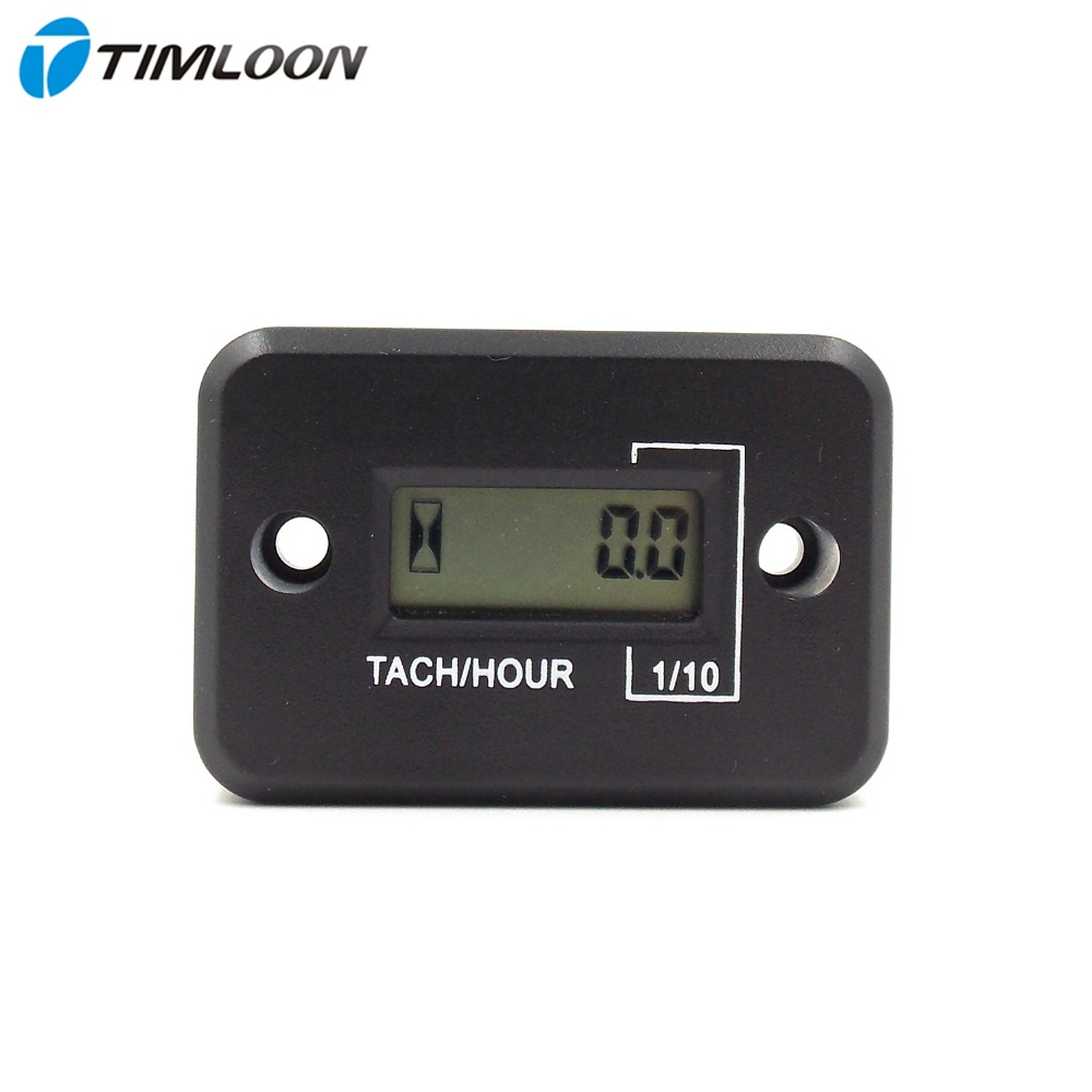 Waterproof <font><b>LCD</b></font> Display <font><b>Digital</b></font> Tachometer Tacho <font><b>Gauge</b></font> <font><b>Hour</b></font> <font><b>Meter</b></font> <font><b>For</b></font> Motorcycle / Boat <font><b>Engines</b></font> / 4 stroke <font><b>gasoline</b></font> <font><b>engine</b></font>