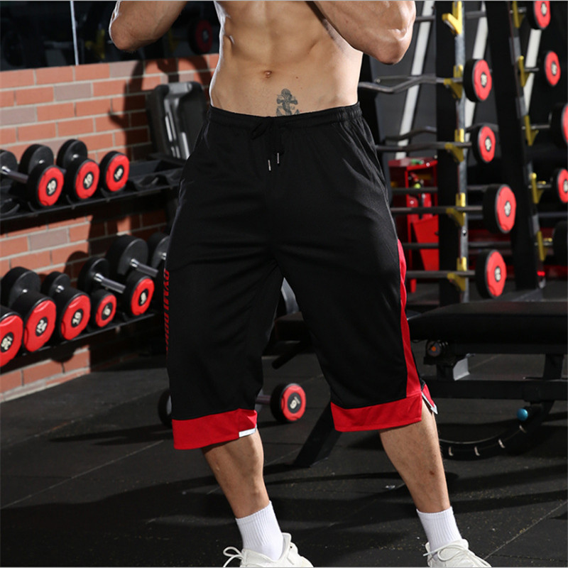 YEMEKE Men Gyms Fitness   Shorts   Summer Casual Fashion Cool   Short   Pants Male Jogger Bodybuilding Workout Man Brand Sweatpants
