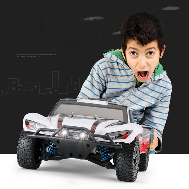 RC Car 4WD 45km/h Full Proportion High Speed Drift 2.4G Monster Truck Remote Control BigFoot Buggy Off-Road SUV Electronic Toys 2