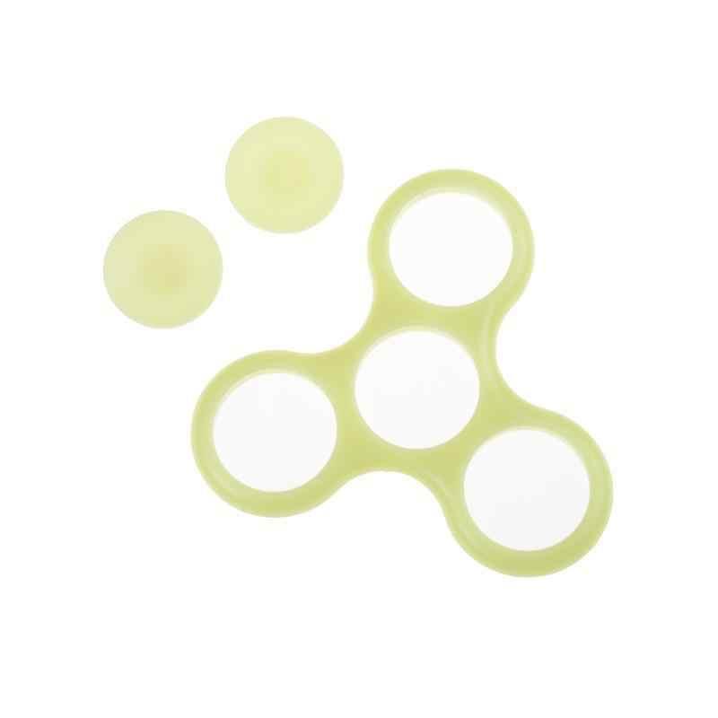 Focus Luminous zabawka spinner ręczny Fingertip fluorescencja fidget spinner dzieci dorosły zabawna dekompresja