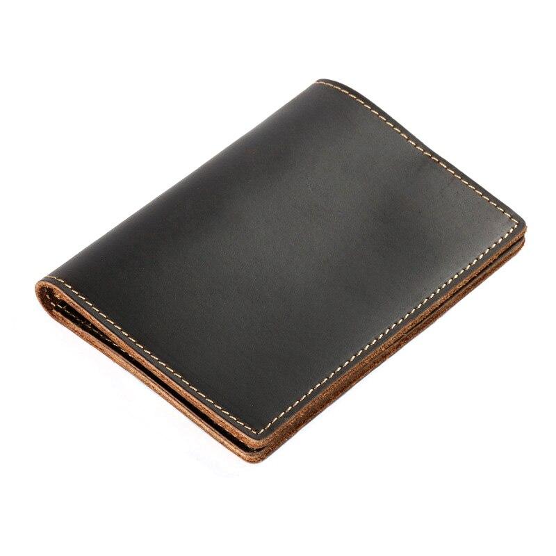 Vintage Genuine Leather Passport Cover Men Travel Men Passport Case Multifunction Case For Passport Wallet Purse