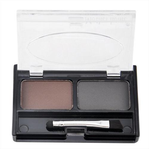 Polvo Ceja impermeable Para Las Mujeres, Paleta de sombra de Ojos Cejas Con El C