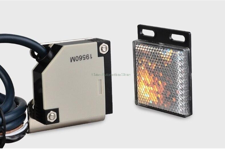 photoelectric switch 40CM E3JK-R4M1 Retroreflective photoelectric sensor DC12-24V 18*50*50  цены