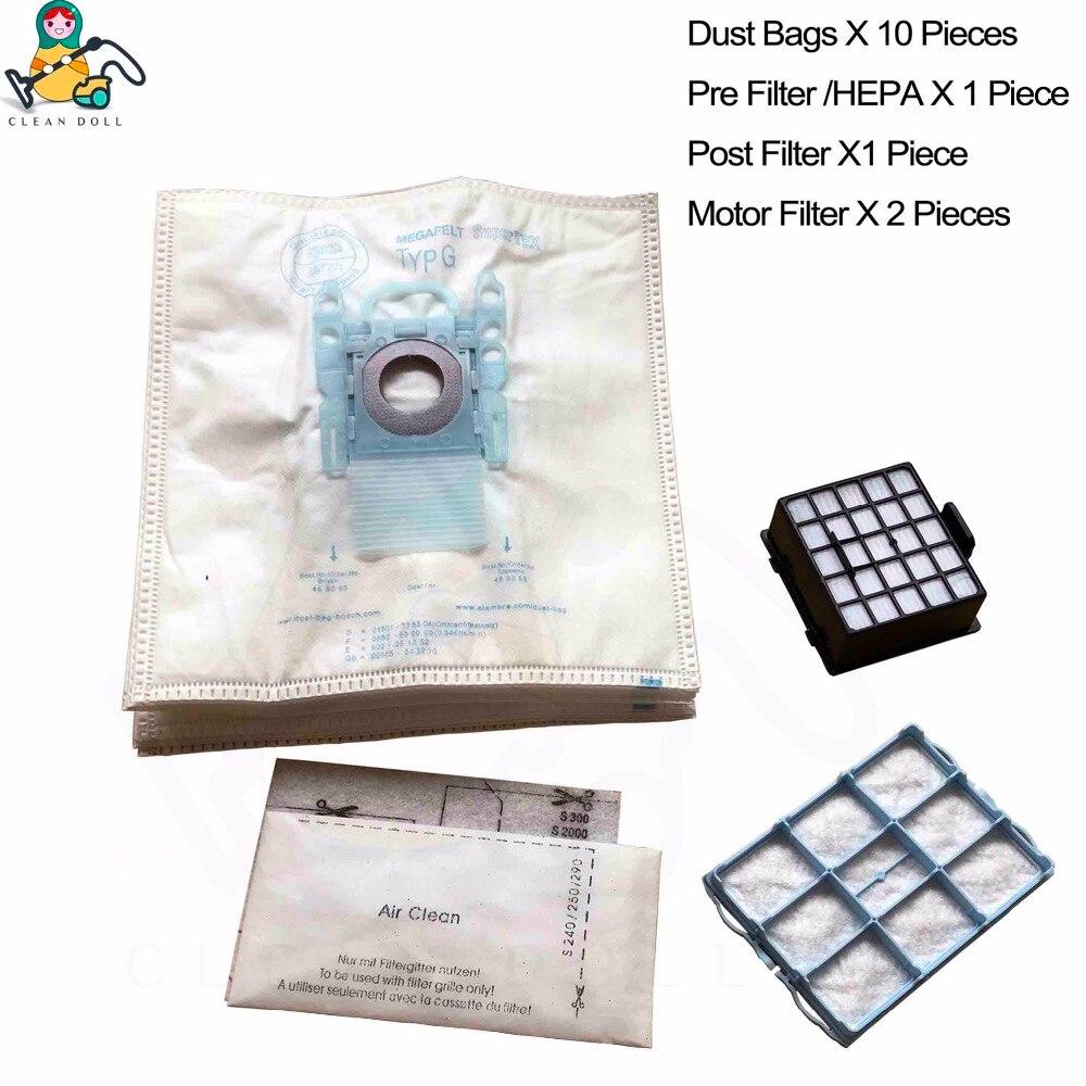 Super Pack /Aspiradora de dustwave/® Marca Bolsa para el polvo Fabricado en Alemania 40/filtro de polvo bolsa Incluye Micro de filtro Adecuado para Bosch/ /Sphera BSA 2800/