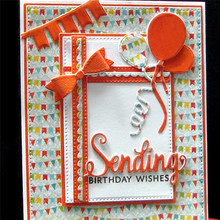 YaMinSanNiO 3 Pcs/lot Metal Cutting Dies Scrapbooking For Card Making DIY Embossing Cuts Craft Various Strips Decoration Frame