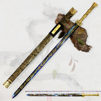 Great swords Cold weapon Exquisite pattern Very beautiful crafts Recommended as a home decoration home decor
