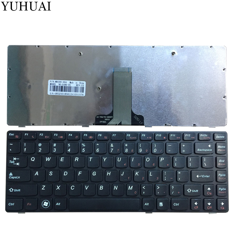 NEW US <font><b>Keyboard</b></font> For <font><b>LENOVO</b></font> G480 G485 G490 Z380 <font><b>Z480</b></font> Z485 US laptop <font><b>keyboard</b></font> image