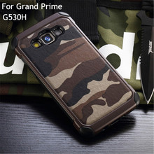 Camouflage Shockproof Cover Defendered Case For Samsung Galaxy Grand Prime G530H G531H G530F S6 S6 edge+ S7 Edge Hybrid Cover
