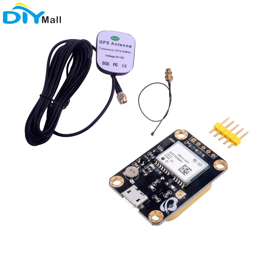 Antenna for 6M GPS STM32 Arduino GT-U7 GPS Receiver Module with EEPROM