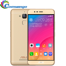 "Original ASUS Zenfone Pegasus 3 X008 5.2"" HD Fingerprint ID 16GB 32GB ROM Quad core 4100mAh Android smart phone Metal Body"