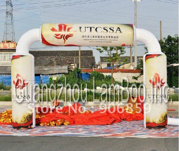 All Free Shipping 2012 New Design Special Inflatable Archway with Your LOGO for Advertisement, Promotion Inflatable Arch