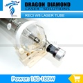 W8 Reci 150 W CO2 Tubo Do Laser para Gravação A Laser CO2 Máquina de Corte Atualização S8 Z8 Comprimento 1850 Diâmetro. 90mm Caixa De Madeira Caixa de Embalagem