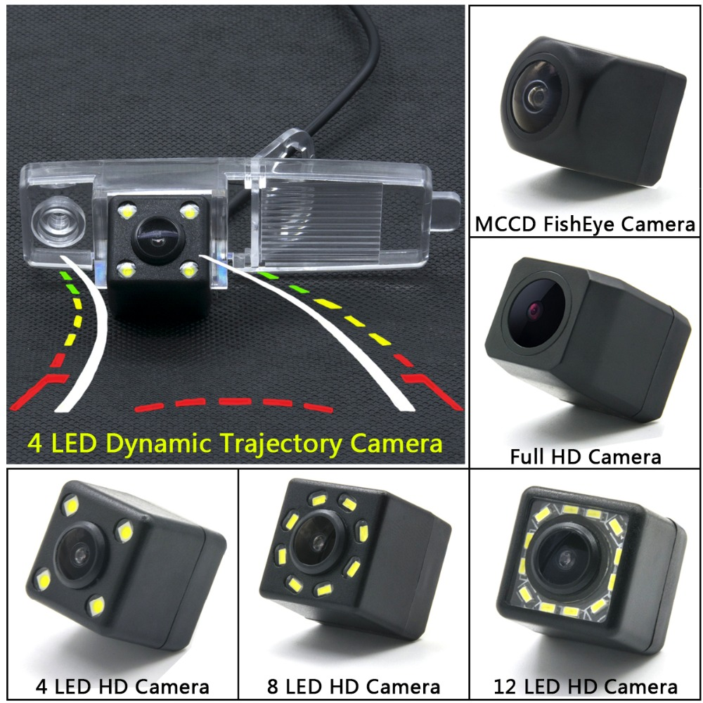 Ccd Led Backup Rear View Camera For Toyota Highlander 2002 2003 2004 2006 2007 2008 2009 2010 2017 Kluger Car Monitor