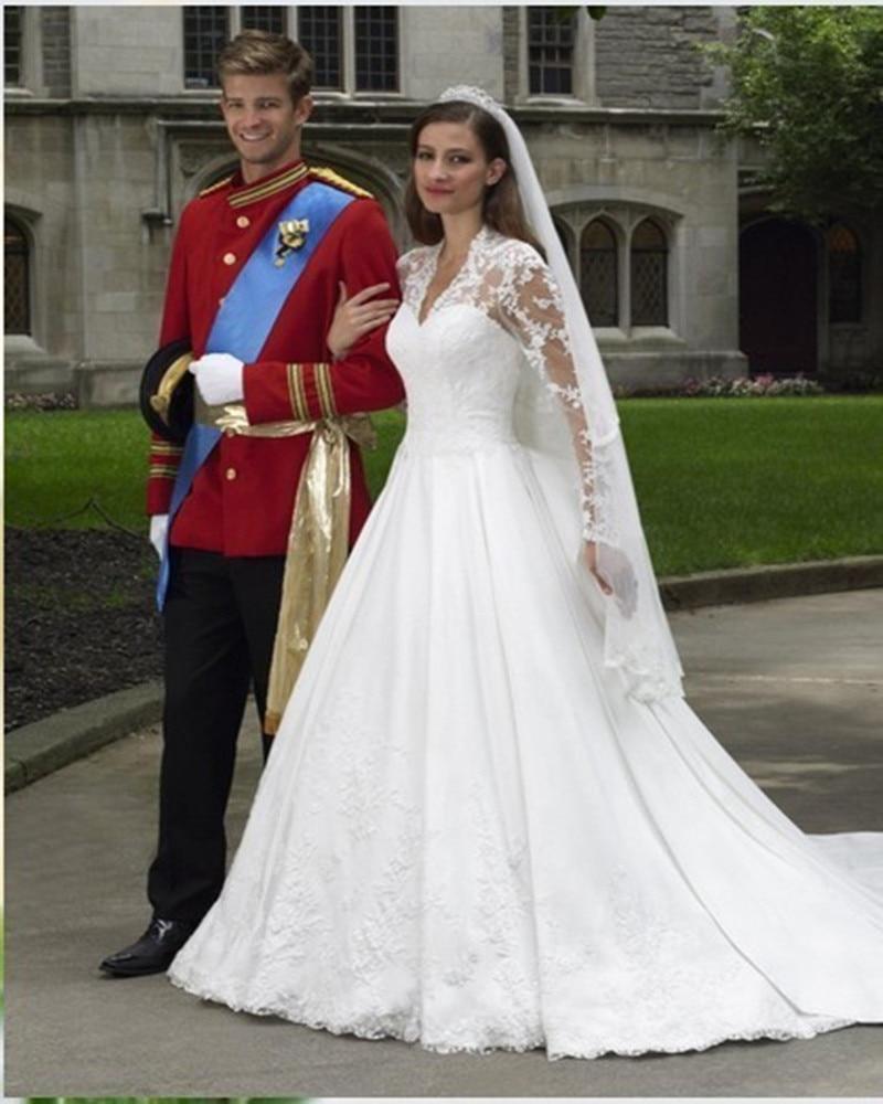 Popular princess kate wedding dress designer buy cheap princess princess kate wedding dress designer ombrellifo Images