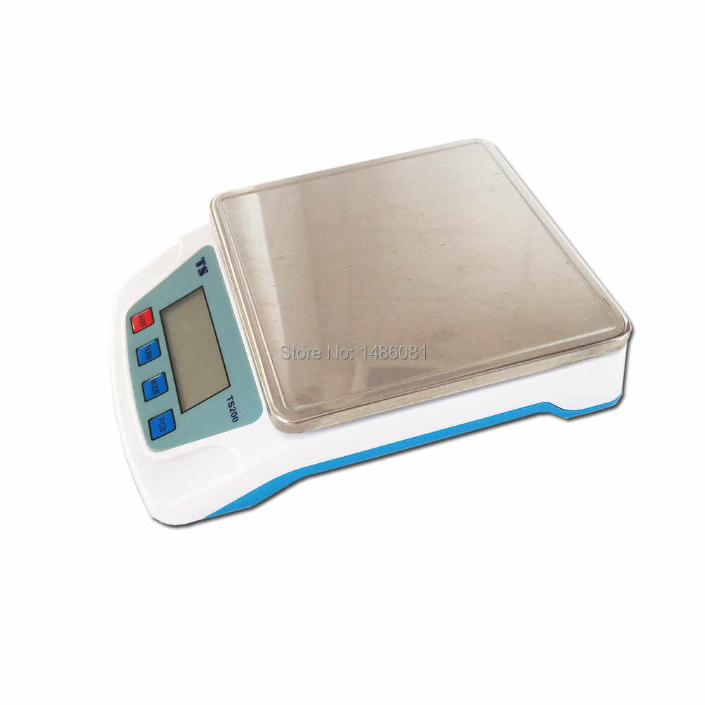 Oman-T200A real new 10kg/1g digital kitchen scale cooking Household measure  tools stainless steel electronic weight balance