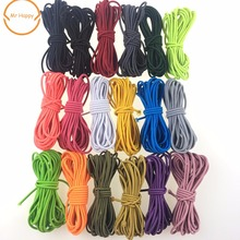 5yard/lot Stretchy Elastic String Cord Thread 3mm for DIY Jewelry Making 14 colors to choose Quantity Free shipping