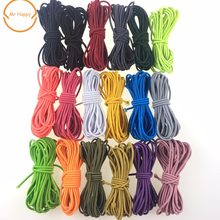 5yard/lot Stretchy Elastic String Cord Elastic Rope rubber band Thread 2.5mm for DIY Jewelry Making Sewing Accessories