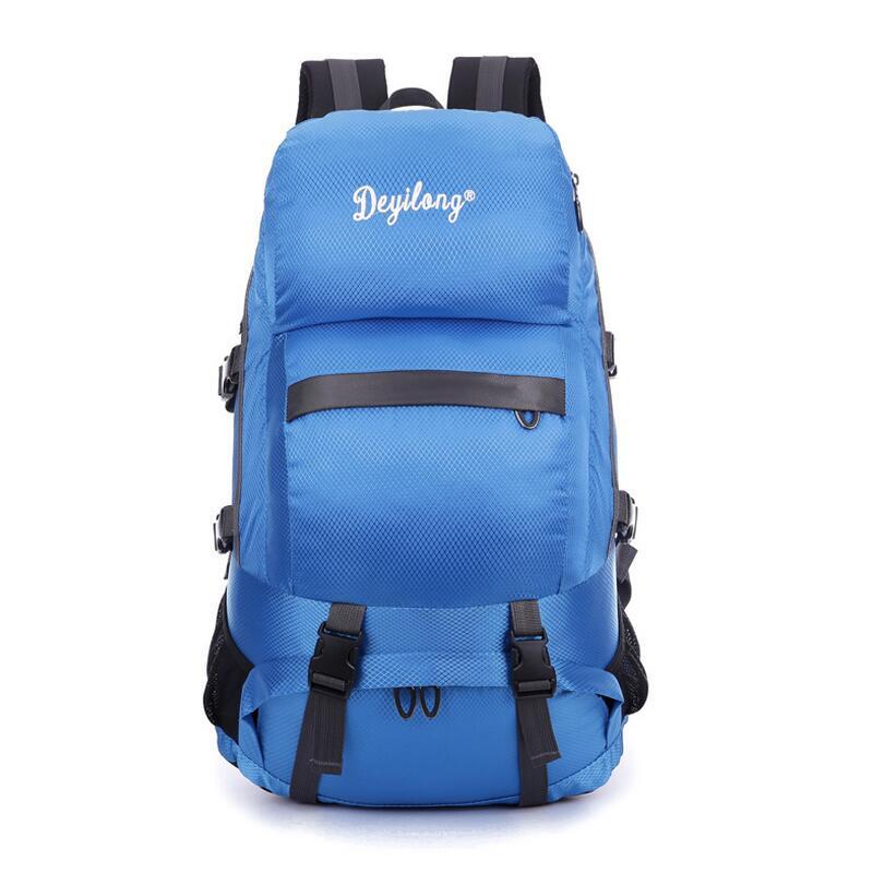 Outdoor Camping climbing hiking backpack bag shoulder bag men and women  large-capacity lightweight Outdoor sport rucksack 4e296b1c9e