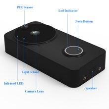 DAYTECH Video Doorbell Wireless WiFi Door Bell Monitor Alarm Door Phone 1080P  IP Camera Battery Outdoor Waterproof iOS Android
