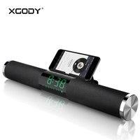 XGODY CYD 01 Wireless Bluetooth Speaker 2000mAh 10 Meters BT Soundbar Home Theater FM Radio For