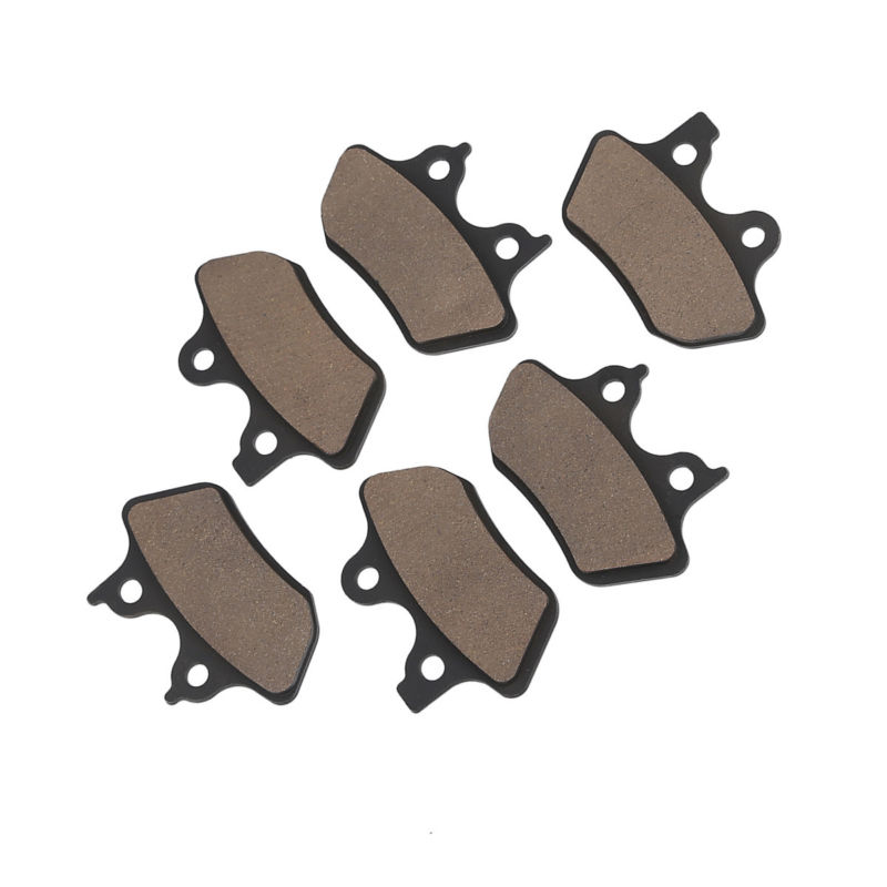 Front + Rear Brake Pads For Harley Touring Electra Street Glide Dyna Sportster XL 1200S FXDX  FLHR 2000-2007 FLHTC