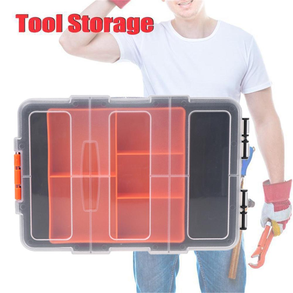 F-156D Portable Plastic <font><b>Tool</b></font> Parts <font><b>Box</b></font> Suitcase Storage Parts Hand <font><b>Tools</b></font> Boxes <font><b>Art</b></font> Hardware Vehicle <font><b>Tool</b></font> Boxes image