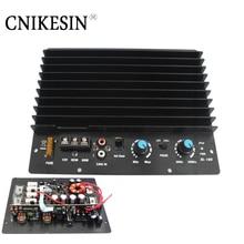 Cnikesin высокой мощности 200 Вт активный сабвуфер усилитель доска пушка усилитель мощности одного канала автомобильный усилитель бас is strong