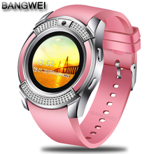 BANGWEI 2019 New Women Smart Watch LED Color Screen Fashion Sport Pedometer Clock Android Smart Phone Watch Relogio inteligente