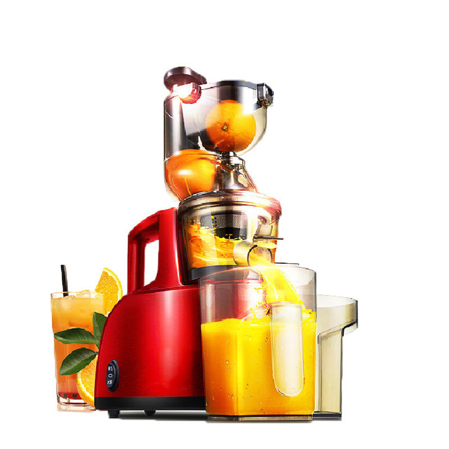 BEIJAMEI 95mm Large Mouth Fruit nutrition slow juicer Fruit Vegetable Tools Multifunctional Fruit Squeezer For Home Commercial