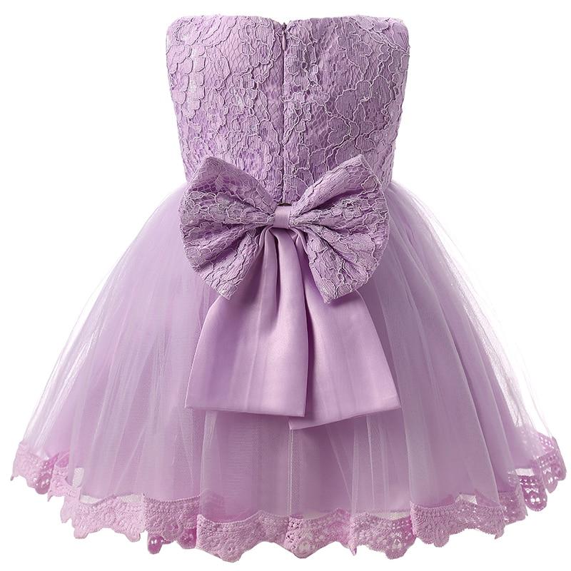Elegant tulle baby girl baptism wedding dress lace infant for Baby wedding dresses newborn