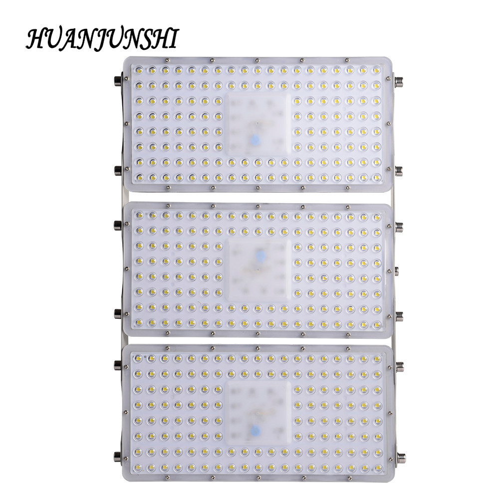 HUAN JUN SHI LED Flood Light Waterproof Outdoor Lighting High Brightness Led Spotlight Garden Wall Lamp 300W Module FloodLight