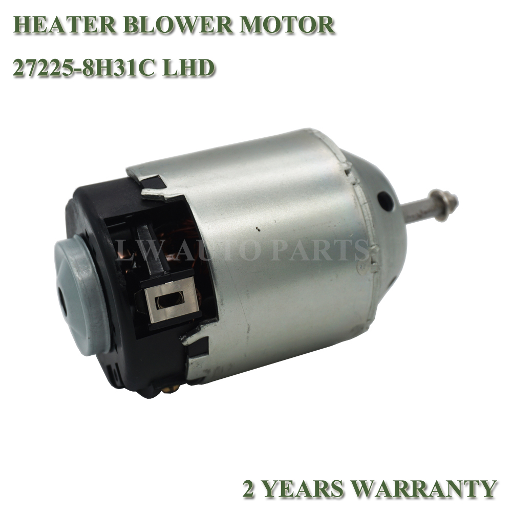 HEATER BLOWER MOTOR 27225-8H31C FOR NISSAN X-TRAIL T30 2001-2007 (LHD)