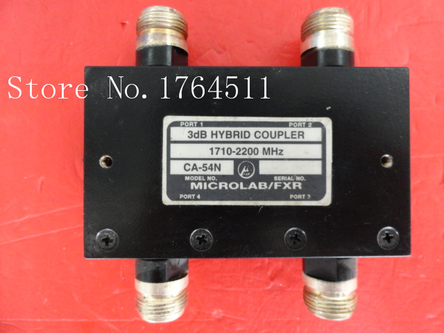 [BELLA] MICROLAB/FXR CA-54N 1710-2200MHz Coup:3dB N Supply Bridge