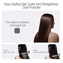 LED Display Anions Hair Straightener
