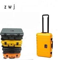Hardside luggage trolley camera bag trolley digital SLR waterproof box photography boarding box