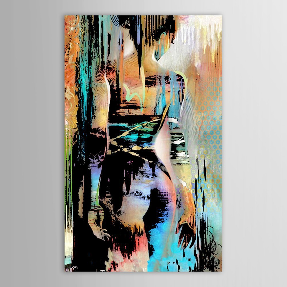 Hand Painted Canvas Modernism Abstract S Back Art Painting For Living Room Bedroom Decor Paintings Wall In Calligraphy